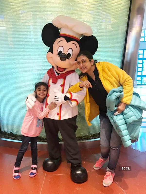 Juhi Parmar celebrated her daughter's birthday in Disneyland