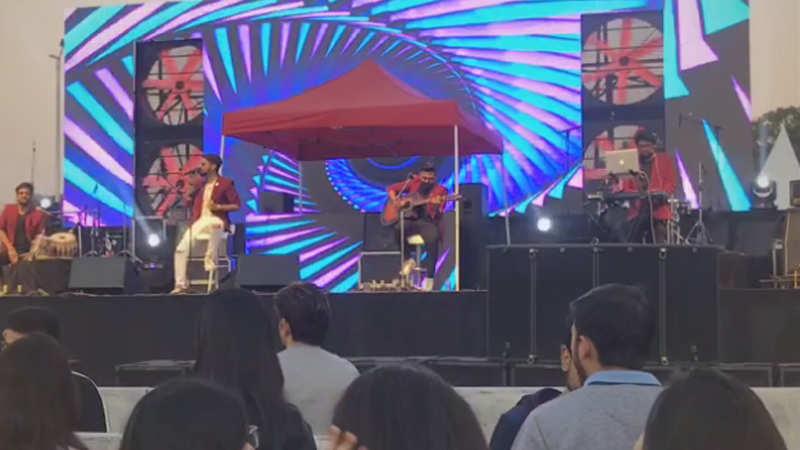 Harrdy Sandhu and Nucleya perform at Grub fest in Gurgaon