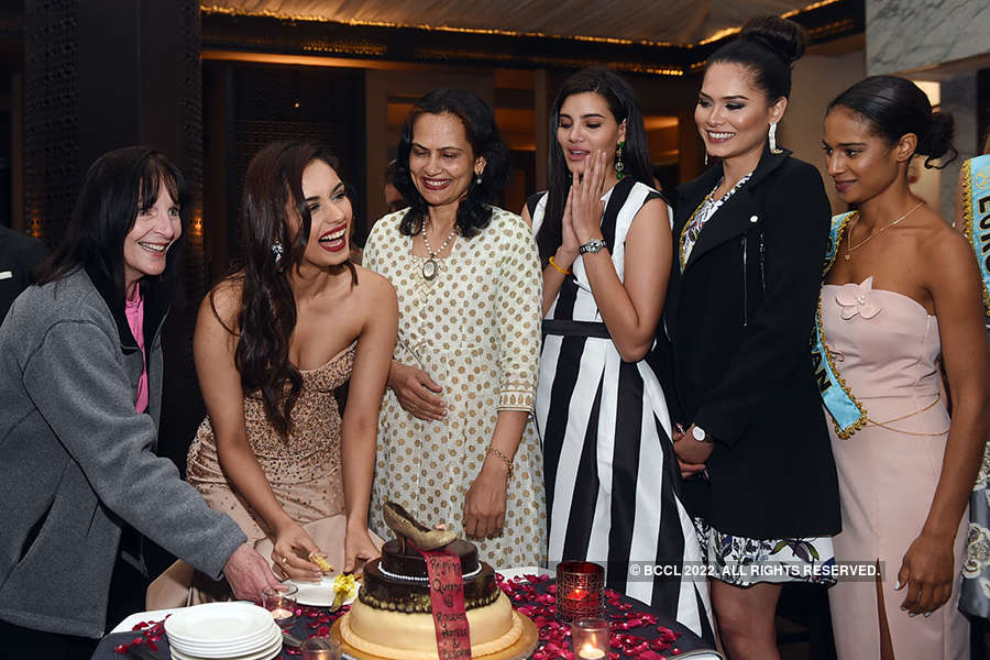 A special dinner hosted for Miss World 2017 Manushi Chhillar