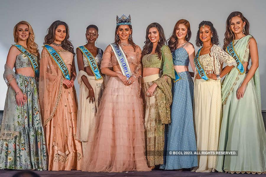 Miss World 2017 Manushi Chhillar & 6 Continental Winners