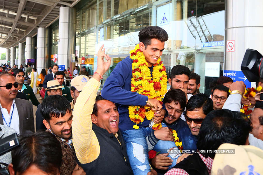 A royal welcome for Nagarkoti in Jaipur