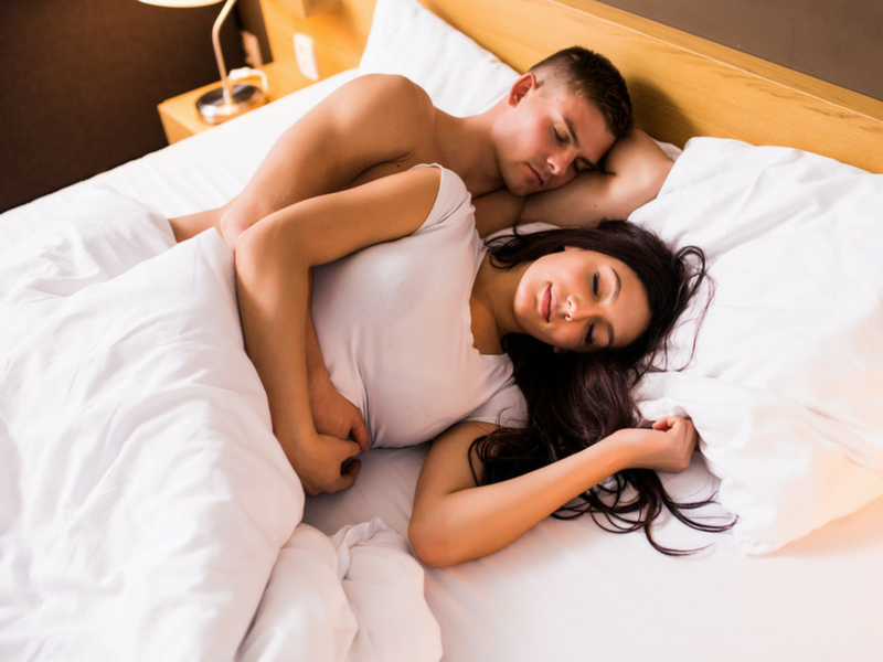 Did You Know Your Sleeping Position Can Reveal A Lot About Your Relationship With Your Partner Interestingly Mattress Advisor An Online Group That