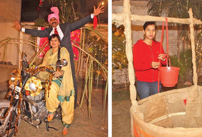 Anannd Dubey and Neelu Mishra (R) Janavi (BCCL/ Arvind Kumar)
