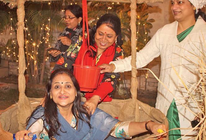 (L-R) Anita, Meena and Neeta Bajaj (BCCL/ Arvind Kumar)