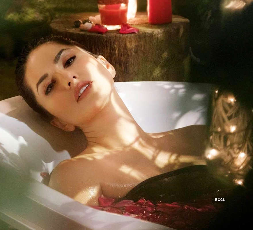 Sunny Leone turns up the heat with her bathtub photoshoot