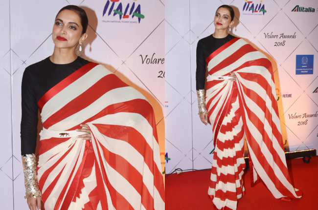 Deepika Padukone's sari