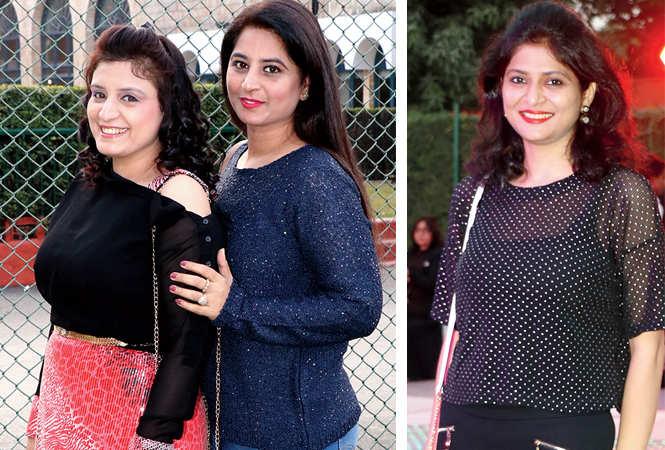 Preeti Talwar and Ritika Mehra  (R) Priyanka Bhargava  (BCCL/  Unmesh Pandey)