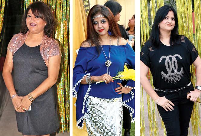 Reena Peshwani, Shweta Singh and Sunita Jaiswal  (BCCL/  Unmesh Pandey)