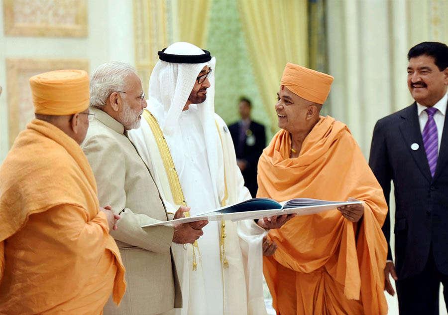 PM Modi visits Palestine, UAE, Oman