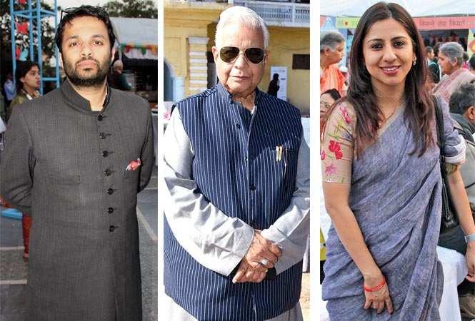 Ali Khan Mehmudabad, Ammar Rizvi and Arshiya (BCCL/ Farhan Ahmed Siddiqui and Vishnu Jaiswal) 