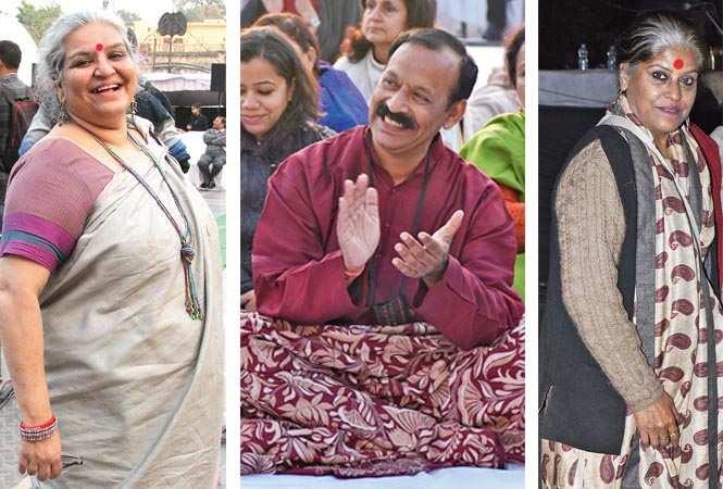 (L-R) Madhavi Kuckreja, Prof  Rakesh Chandra and Runa Bennerjee (BCCL/ Farhan Ahmed Siddiqui and Vishnu Jaiswal) 