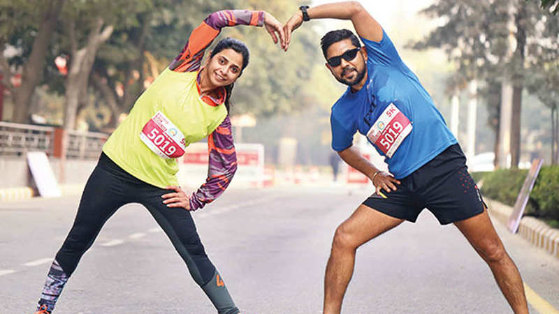 In Gurgaon, couples who run together, stay together!