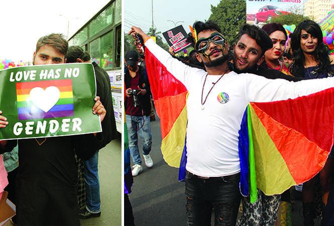 Tanzeel (R) A couple at the parade (BCCL/ Aditya Yadav)