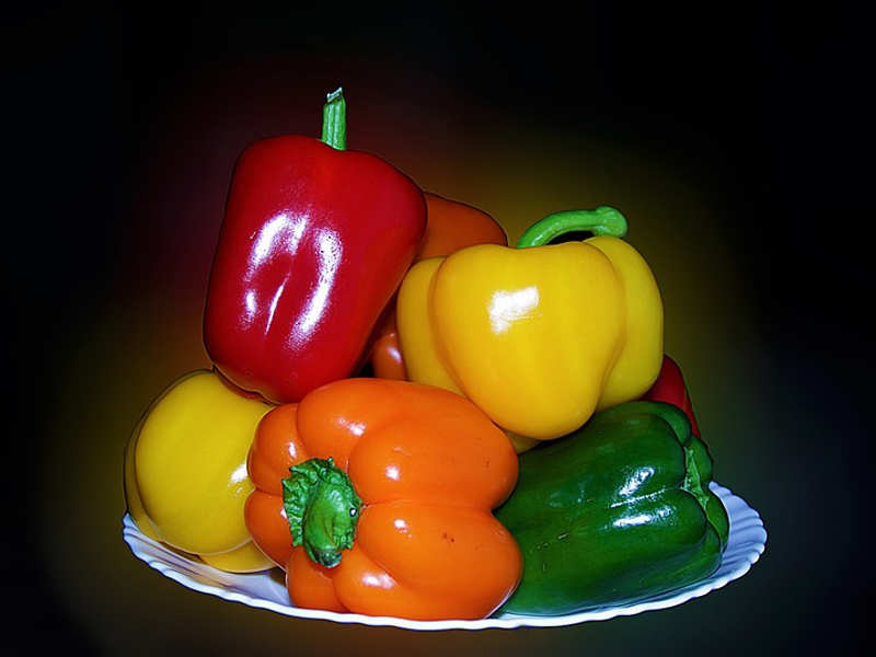 Difference between red, yellow, orange and green capsicum   The Times of  India