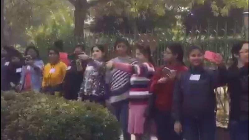JMC attempts to break longest selfie relay chain world record for TB