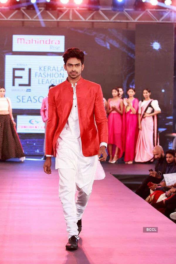 Vishnu Raj Menon turns showstopper at Kerala Fashion League