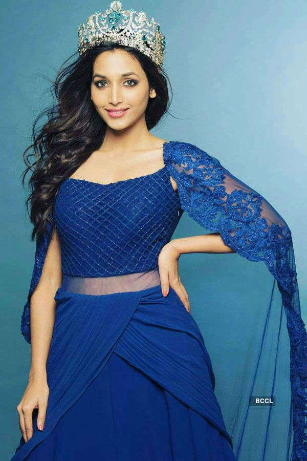 Srinidhi Shetty's different shades of blue