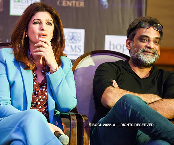 Twinkle Khanna, R Balki discuss 'Pad Man'