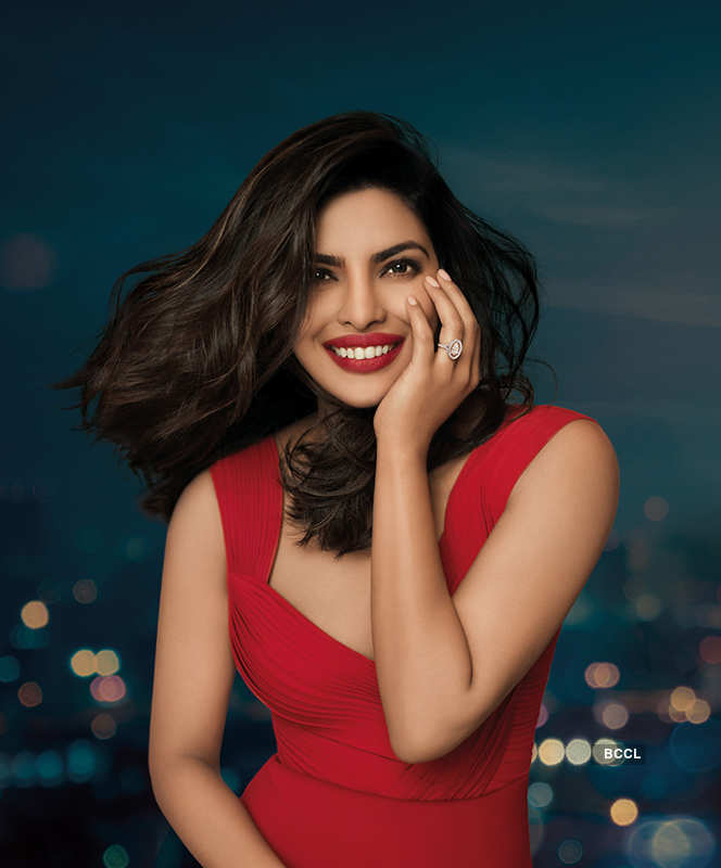 Priyanka Chopra in Nirav Modi's advertisement