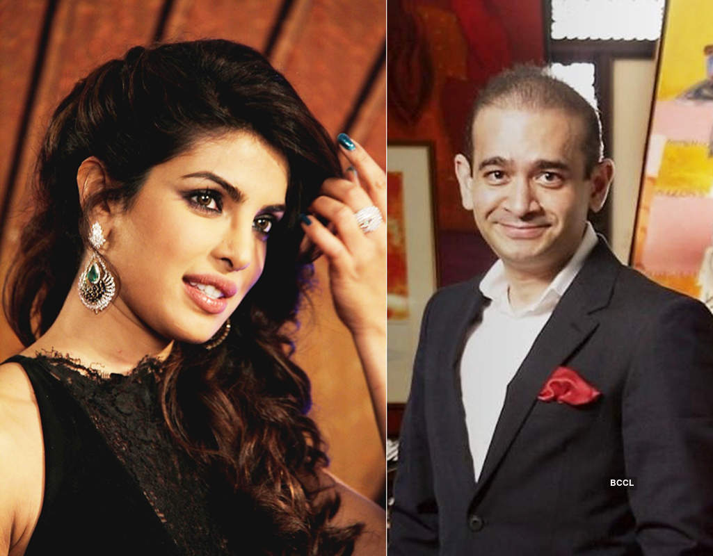 Priyanka and Nirav Modi