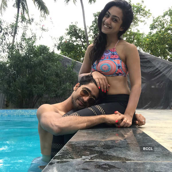 Romance is in the air for Sanam and Abigail!