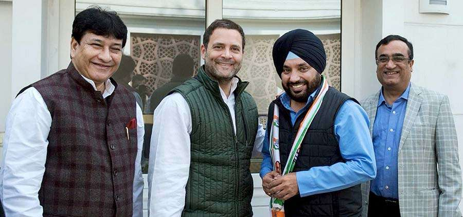Arvinder Singh Lovely rejoins Congress