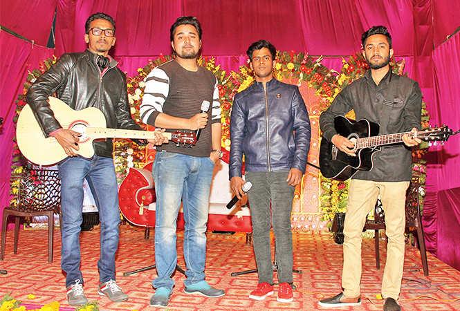 (L-R) Ashutosh, Danish, Aman and Hasnain (BCCL/ Aditya Yadav)