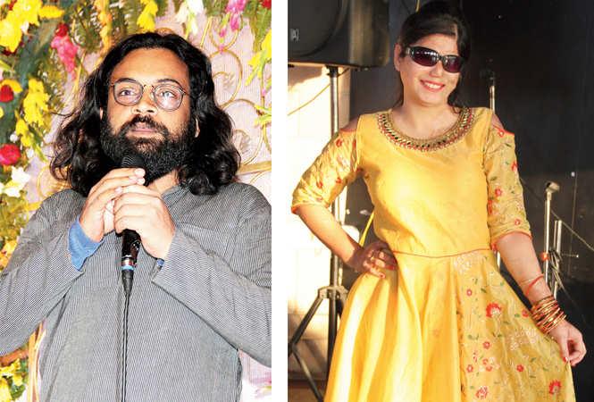 Alok Dixit and Farha Khan (BCCL/ Aditya Yadav)