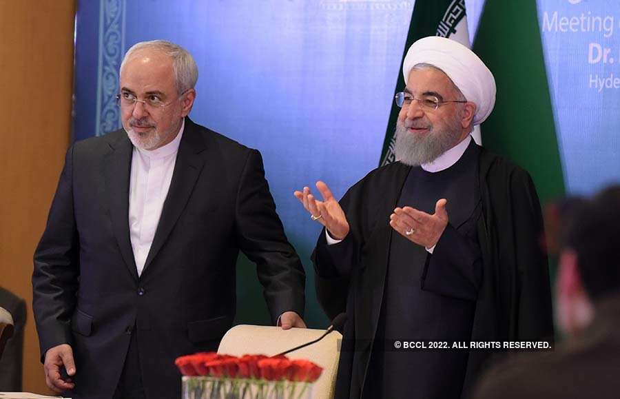 Iran President Hassan Rouhani's India visit