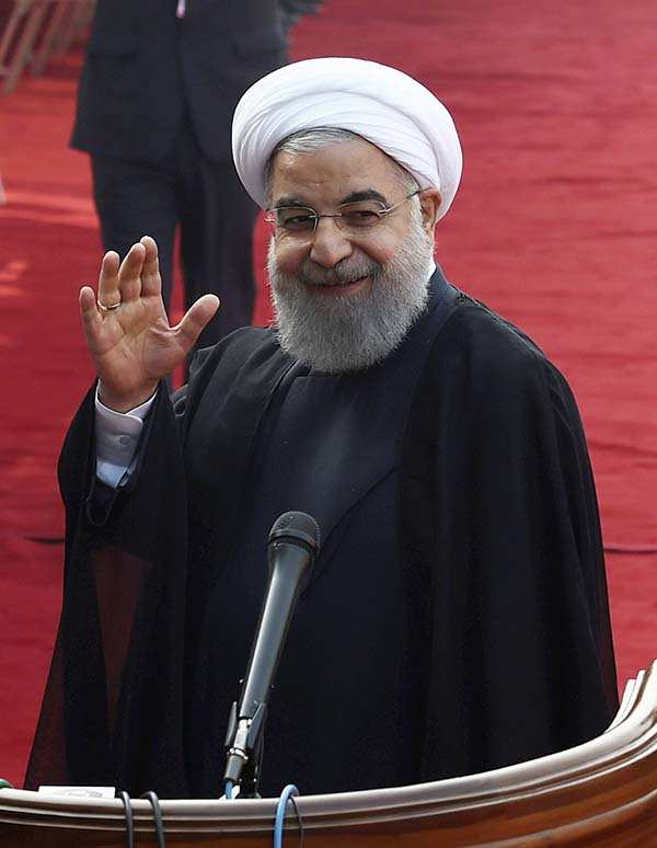 Iran President Hassan Rouhani's India visit