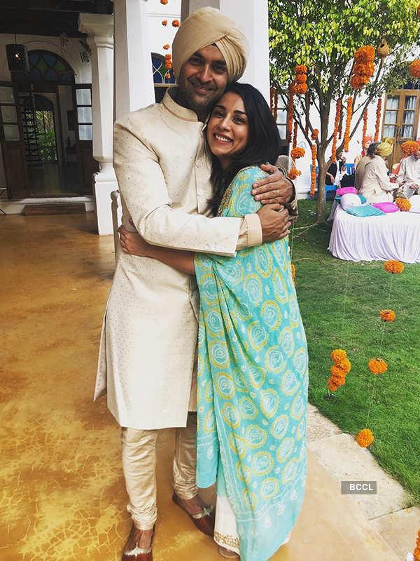 Purab Kohli and Amrita Puri