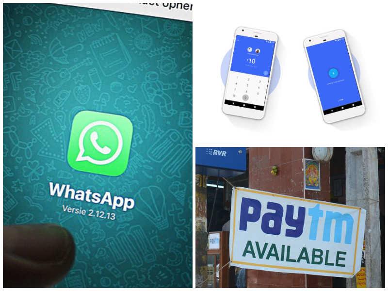 Payment Apps: WhatsApp vs Paytm vs Google Tez