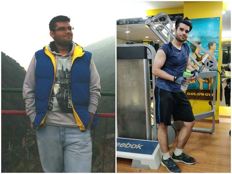 This doctor's weight loss from 130 kgs to 77 kgs is