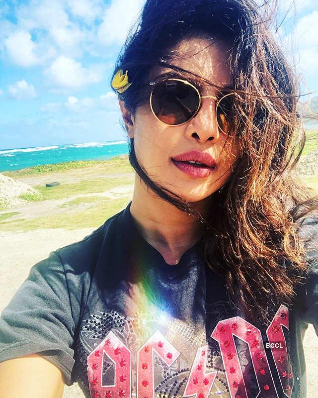 Priyanka Chopra chills on an Island