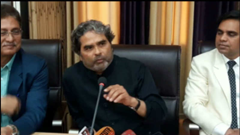It's like going back in time when I shot Omkara here at Lucknow University: Vishal Bhardwaj