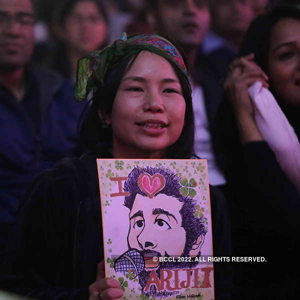 Arijit Singh's concert in Gurgaon