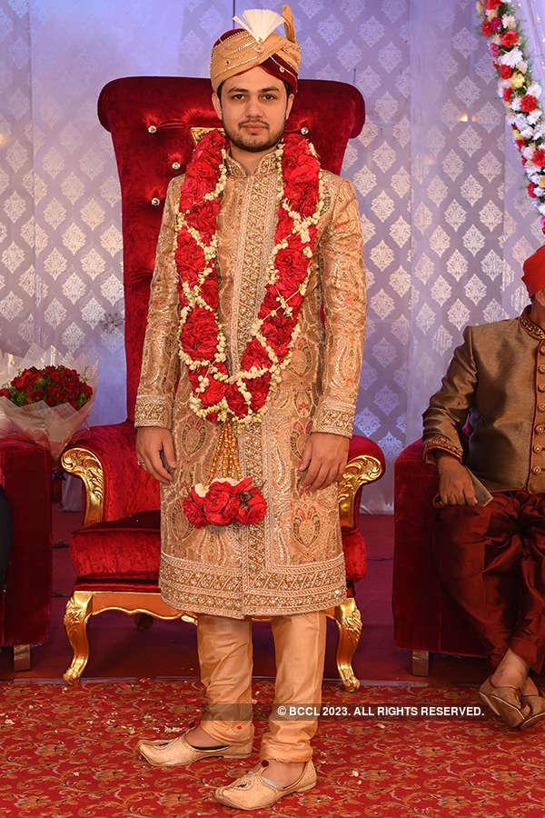 Sahibzadi Nidad Karamath and Shahrukh Khan Pathan's wedding reception