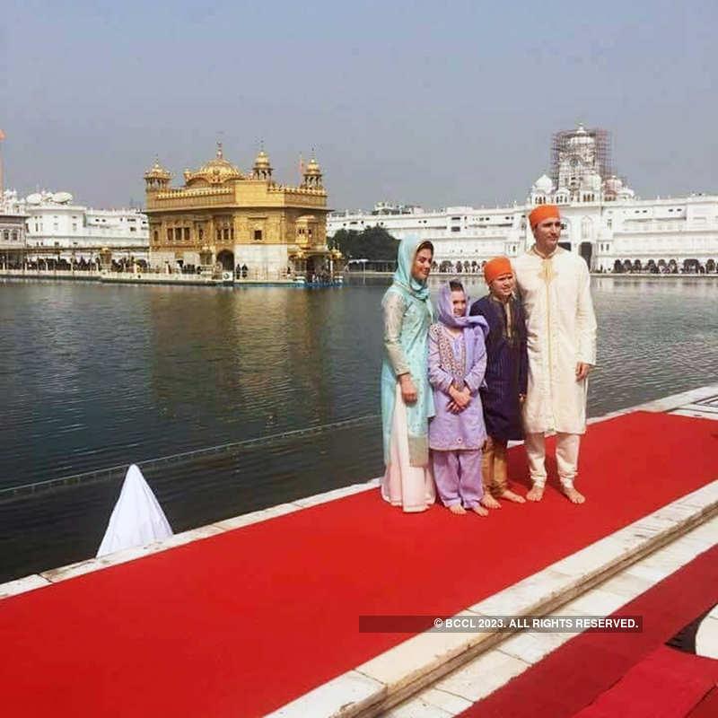 PM Narendra Modi welcomes Canadian PM Justin Trudeau