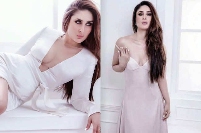 Kareena kapoor in hot white