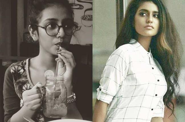 Priya Prakash Varrier casual pics