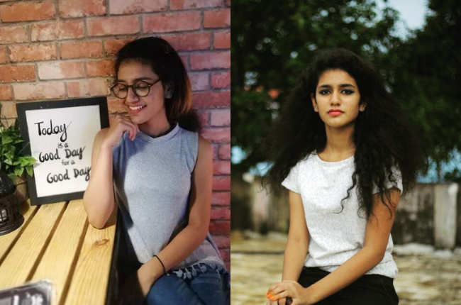 Priya Prakash Varrier cute photos