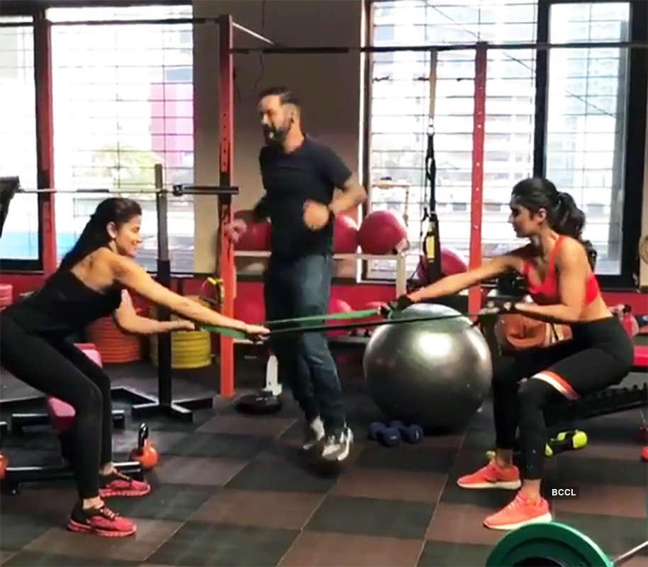 Katrina Kaif's workout