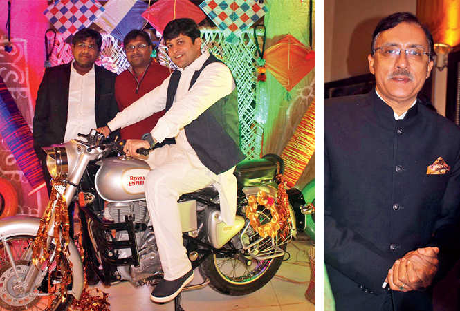 (L-R) Siddharth, Ninkunsh, Rajat and Deepak Madhok   (BCCL/ Arvind Kumar)
