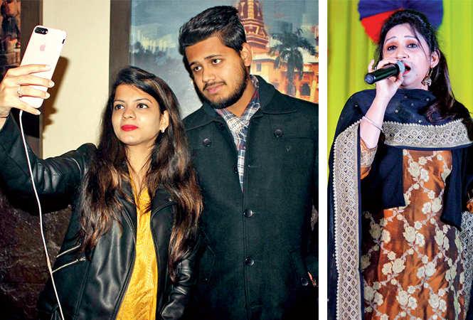 Medha and Kshitij (R) Dr Shweta (BCCL/ Arvind Kumar)