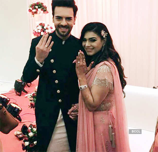 TV actors Sanjay Gagnani and Poonam Preet got engaged!