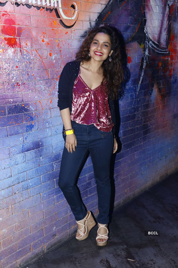 TV celebs attend Box Cricket League's after party