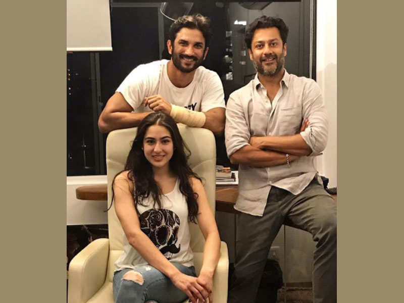 Image result for 'Kedarnath': Interesting things about Sara Ali Khan and Sushant Singh Rajput's film