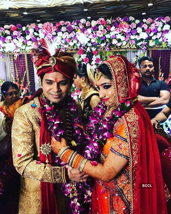 Ankit Tiwari and Pallavi Shukla's wedding ceremony