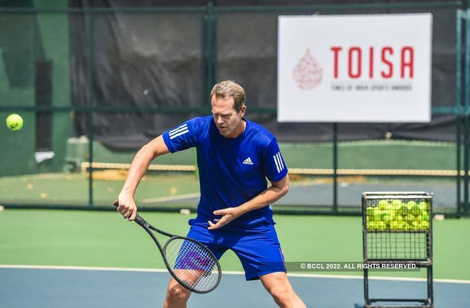 Stefan Edberg's tennis clinic by TOISA