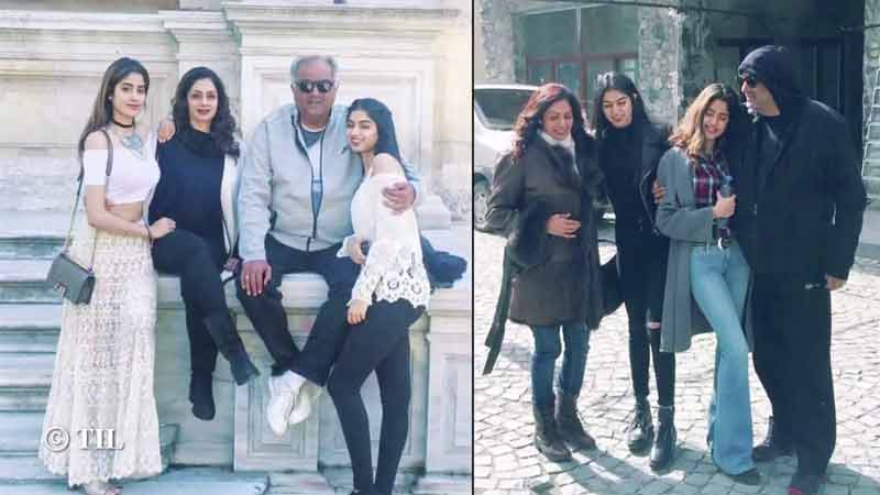 Sridevi: Candid pictures of the veteran actress with her family